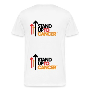 Stand Up To Cancer Mens T-Shirt - Men's Premium T-Shirt