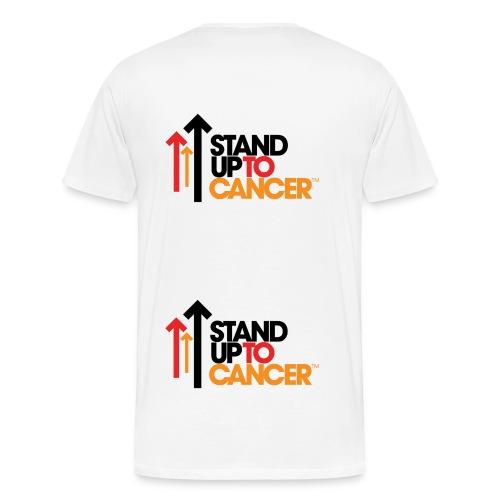 Stand Up To Cancer Mens T-Shirt - Men's Premium T-Shirt