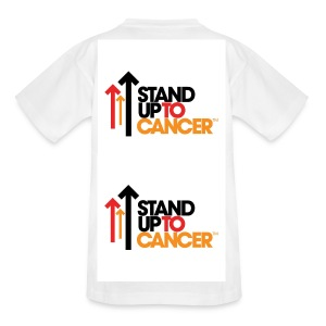 Stand Up To Cancer Tenagers T-Shirt - Teenage T-shirt