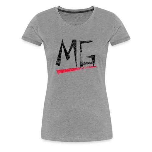 MG Glas black Logo Ladies Shirt - Frauen Premium T-Shirt