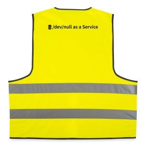 /dev/null as a Service - Warnweste - Warnweste