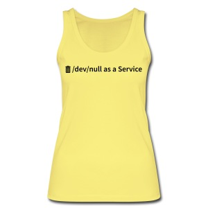 /dev/null as a Service - Frauen Bio Tank Top - Frauen Bio Tank Top