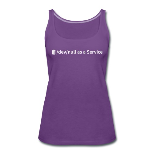 /dev/null as a Service - Frauen Premium Tank Top - Frauen Premium Tank Top