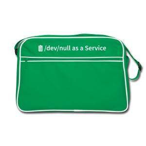 /dev/null as a Service - Retro Tasche - Retro Tasche