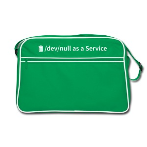 /dev/null as a Service - Retro Tasche - Retro Tasche