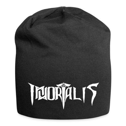 Immortalis - Logo - Jersey-Beanie