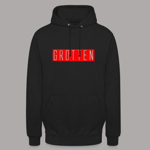 Red logo hoodie - Hættetrøje unisex