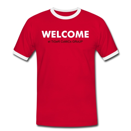 Welcome - T-shirt contrasté Homme