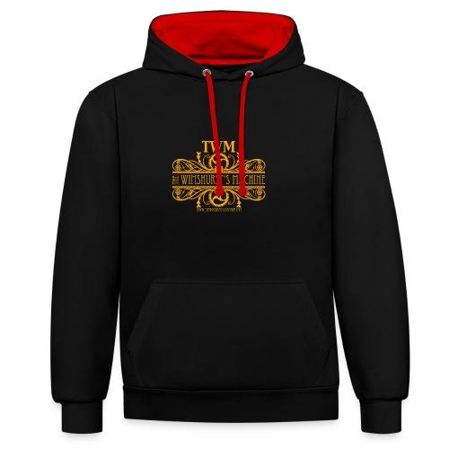 Sweatshirt (Felpa) TWM gold 2-colors - Felpa con cappuccio bicromatica