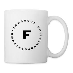 F - Kop/krus