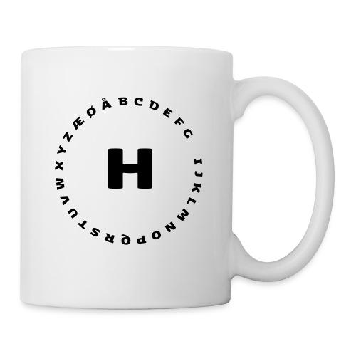 H - Kop/krus