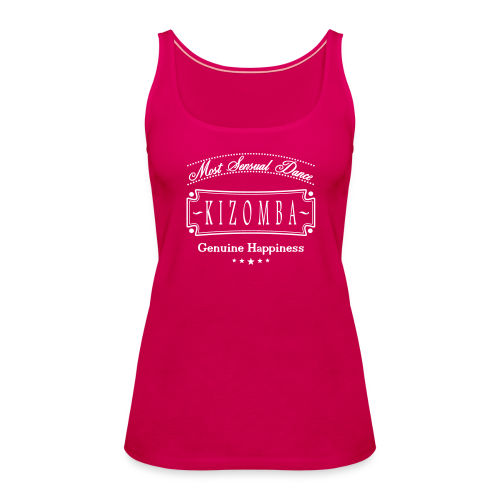 Kizomba most sensual dance, Top - Frauen Premium Tank Top