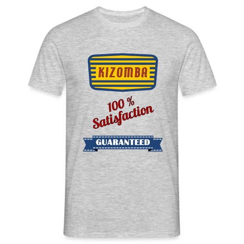 Kizomba 100% Satisfaction, T-Shirt - Männer T-Shirt