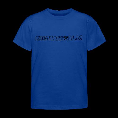Ruhrpottblag - Kinder T-Shirt