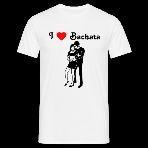 Ich liebe Bachata, T-Shirt - Männer T-Shirt
