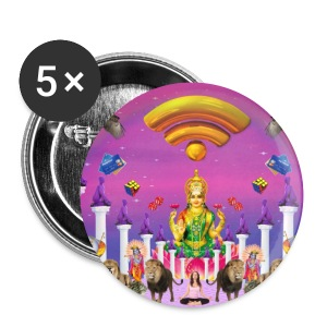 WIFI ZEN - Badge grand 56 mm