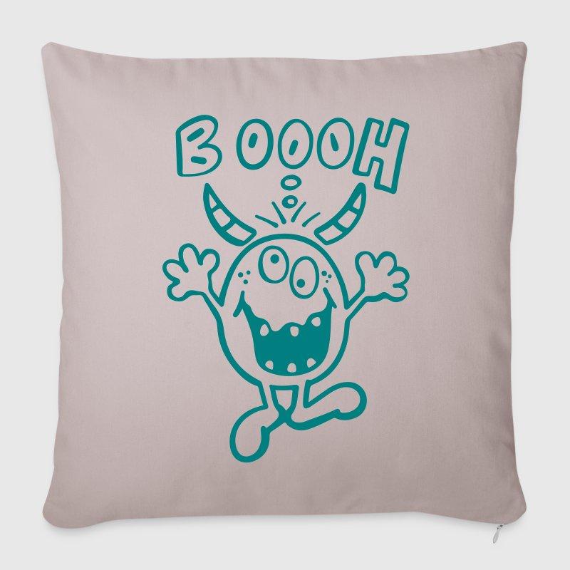 Copricuscino per divano con boooh mostro spreadshirt - Copricuscino per divano ...