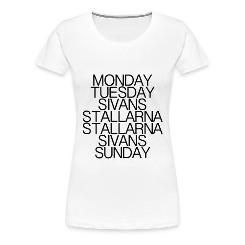 Week on Campus - T-Shirt (Women) - Premium-T-shirt dam