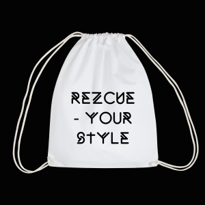 REZCUE MAN BAG - Turnbeutel