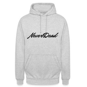 Sweet a capuche NeverDead ND (Logo Noir) - Sweat-shirt à capuche unisexe