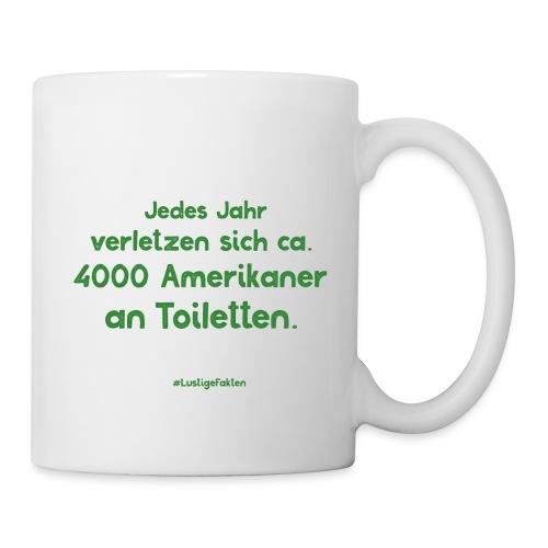 Lustige Fakten Tasse #1 - Tasse