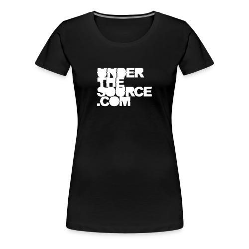 UNDERTHESOURCE.COM | Woman - Frauen Premium T-Shirt