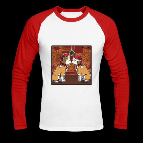 ULAKI XMAS KISS Shirt man - Maglia da baseball a manica lunga da uomo