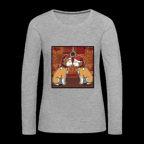 ULAKI XMAS KISS Shirt woman - Maglietta Premium a manica lunga da donna