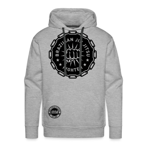 Brazilian Jiu Jitsu Fighter - Men's Premium Hoodie