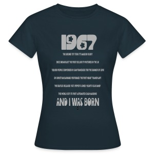 1967 50th birthday - Women's T-Shirt