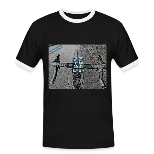 Transalp Adria - Männer Kontrast-T-Shirt