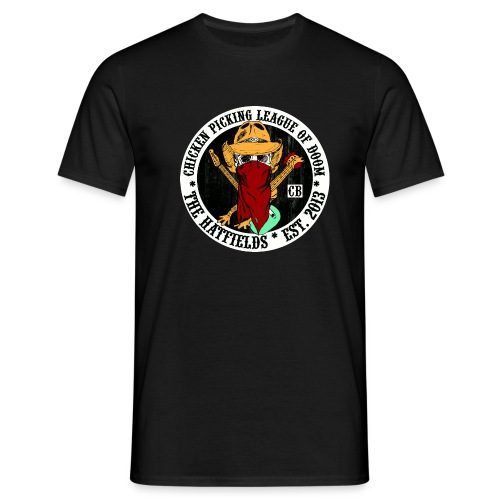 The Hatfields Country Band Road Sign Button - Männer T-Shirt
