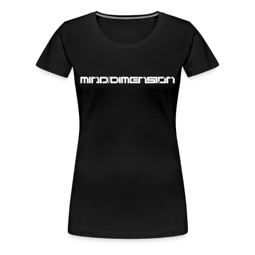 Mind Dimension Tee [Ladies] - Women's Premium T-Shirt