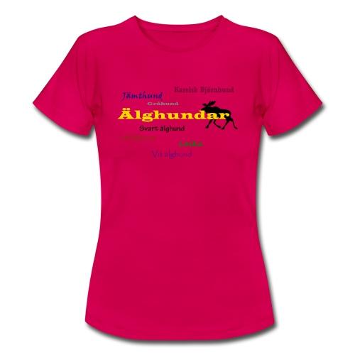 Älghundar - T-shirt dam