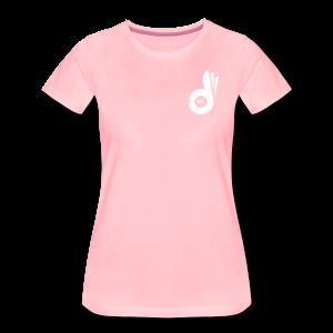 T-shirt Pink Logo - Women's Premium T-Shirt