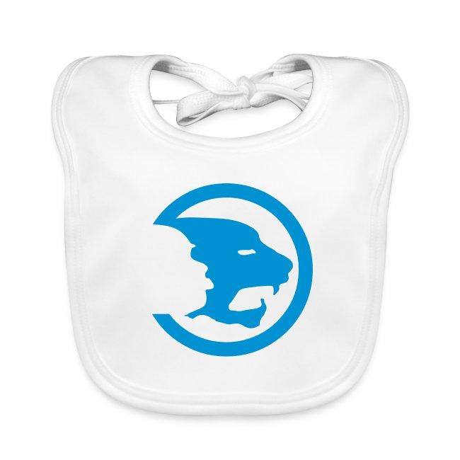Tigers Logo Baby Bib