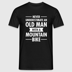 Old Man - Mountain Bike T-shirts - Herre-T-shirt