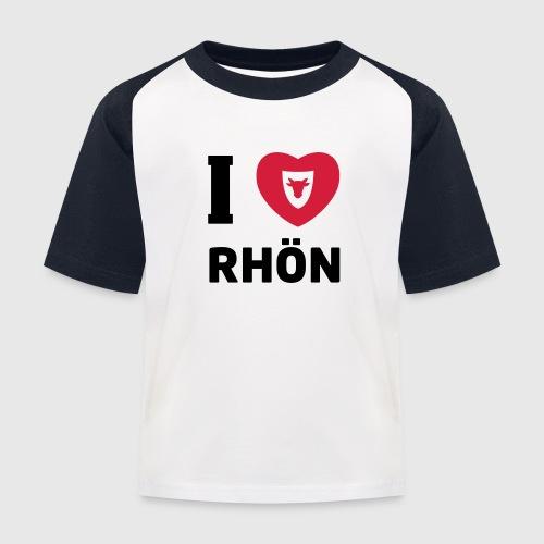 Kinder Basballshirt – I love Rhön - Kinder Baseball T-Shirt
