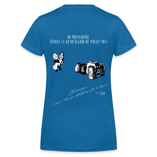 T-shirt Premium Femme  Remise sur les divorces !  - T-shirt bio col V Stanley & Stella Femme