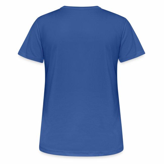 Pustende T-skjorte (dame, flere farger)