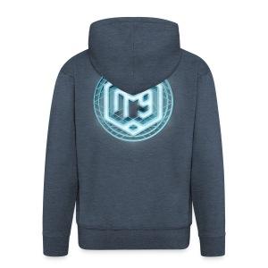 NFG Neon Zip Hoodie - Men's Premium Hooded Jacket