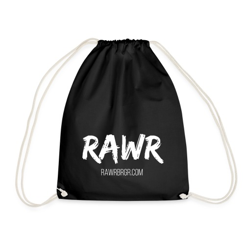 RAWR BRGR - Turnbeutel (verschiedene Farben verfügbar) - Turnbeutel