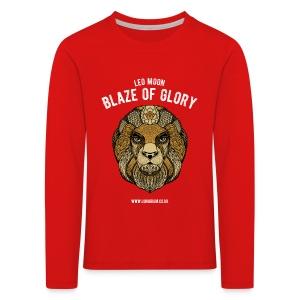 Leo Moon Kids' Premium Longsleeve Shirt  - Kids' Premium Longsleeve Shirt