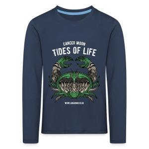 Cancer Moon Kids' Premium Longsleeve Shirt - Kids' Premium Longsleeve Shirt
