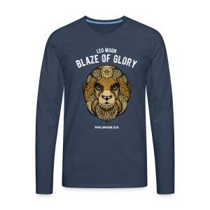 Leo Moon Men's Premium Longsleeve Shirt - Men's Premium Longsleeve Shirt