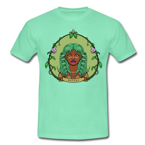 nature-babyblue-men - Camiseta hombre