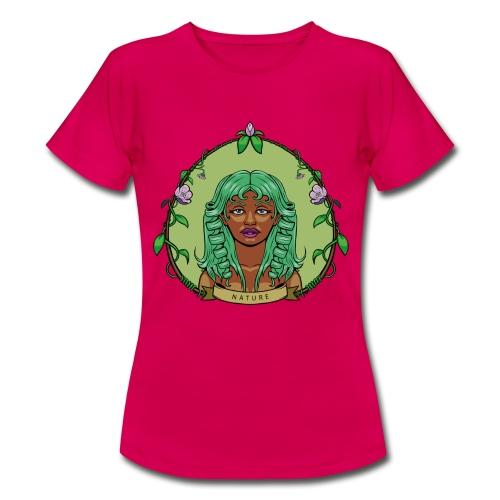 nature-babyblue-women - Camiseta mujer