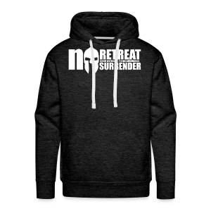 No Retreat, No Surrender Calisthenics Classic - Men's Premium Hoodie