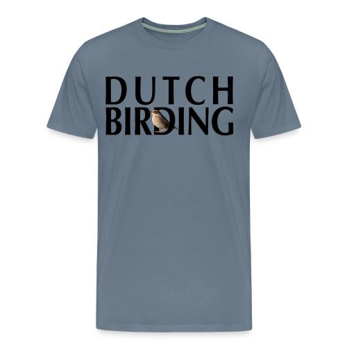 Bergheggenmus - Dutch Birding - 2016 - Mannen Premium T-shirt