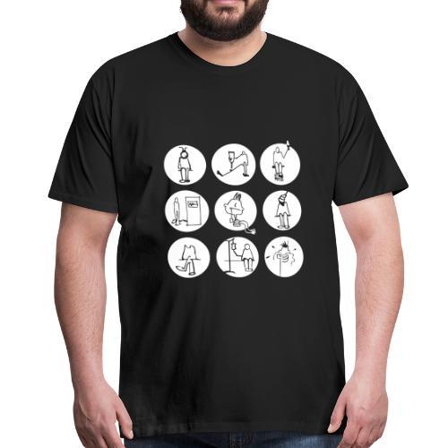 gute besserung - Männer Premium T-Shirt